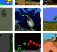 Commodore Amiga - Games 10 Sticker