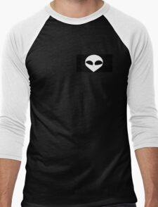 Spooky Alien Design Men's Baseball ¾ T-Shirt