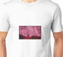 Eiffel tower art Unisex T-Shirt