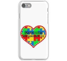 Autism awareness, supporting Autism. iPhone Case/Skin