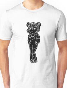 Cute girl Graphic design Unisex T-Shirt