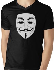 Guy Fawkes Mens V-Neck T-Shirt