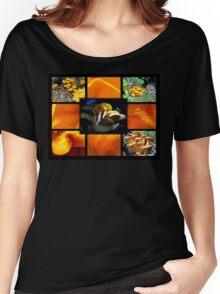 Jack-O-Lantern (Omphalotus olearius) Fungi Women's Relaxed Fit T-Shirt