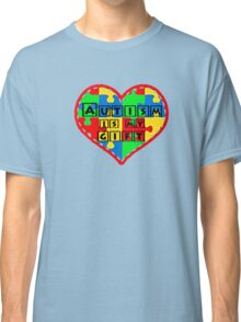 Autism is my gift <3 Supporting autism. Classic T-Shirt