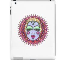 Mandala Face Bejeweled Blond iPad Case/Skin