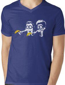 Pulp Minion Mens V-Neck T-Shirt