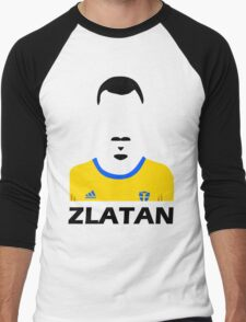 Abstract Zlatan Men's Baseball ¾ T-Shirt
