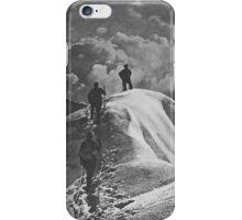 Zugspitze Mountain 1927 iPhone Case/Skin