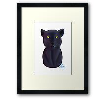 The Panther - Bust Framed Print