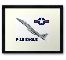F-15C Eagle 94th Fighter Squadron USAF Framed Print