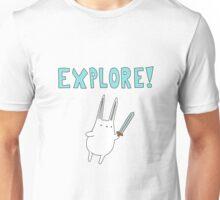 Explore Bunny Unisex T-Shirt