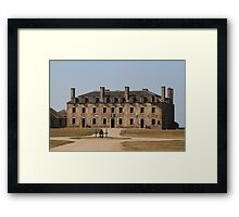 Old Niagara Fort Framed Print