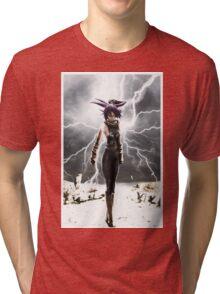 yoruichi shihoin Tri-blend T-Shirt
