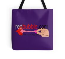 redbubble logo Tote Bag