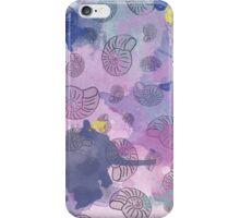 Watercolour Ammonites iPhone Case/Skin