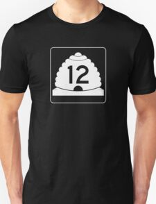 Utah State Route 12 Sign, USA T-Shirt