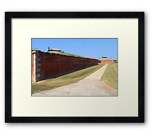 Old Niagara Fort Outside Wall Framed Print