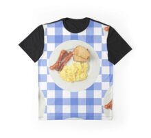 Breakfast Foods Graphic T-Shirt