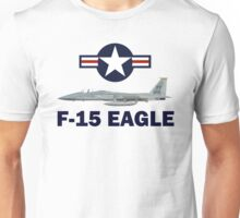 F-15 Eagle Profile USAF Unisex T-Shirt
