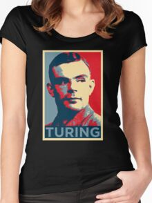 TURING Women's Fitted Scoop T-Shirt