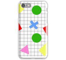 Retro Shapes iPhone Case/Skin