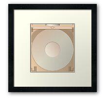 CD Caddy Framed Print