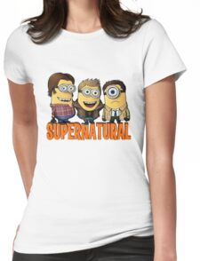 Supernatural minion Womens Fitted T-Shirt