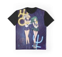 Sailor Uranus & Neptune Crystal III Graphic T-Shirt