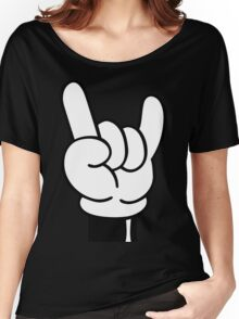 COOL FINGERS Women's Relaxed Fit T-Shirt