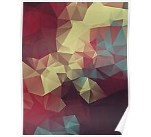 Abstract Polygons #5 Poster