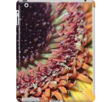gerbera floral abstract background iPad Case/Skin