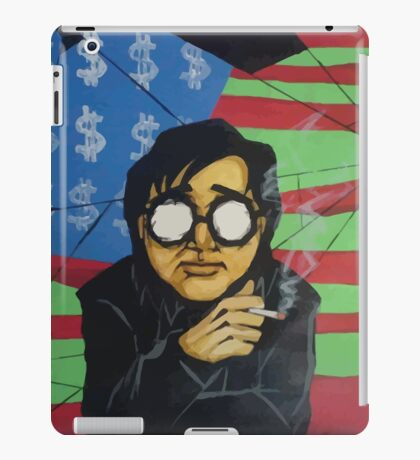 Bill smoking iPad Case/Skin