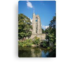 All Saint's Church Tower Canvas Print