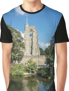 All Saint's Church Tower Graphic T-Shirt