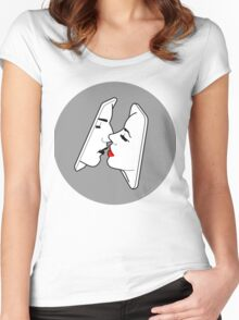 Smartkiss Women's Fitted Scoop T-Shirt