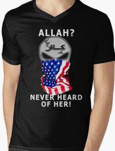 never heard of her Mens V-Neck T-Shirt