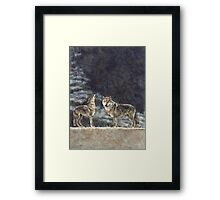 Mournful Song Framed Print