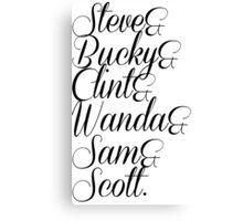 Steve &... Canvas Print