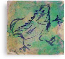 Dancing Iguana Canvas Print