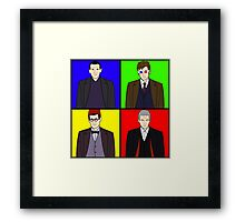POPtor Who Framed Print