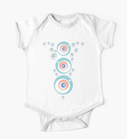 Space Bubbles One Piece - Short Sleeve