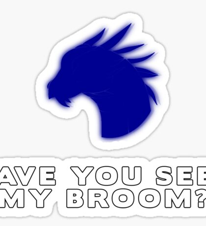 Have you seen Gern's broom? Sticker