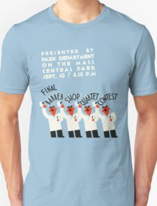 Retro style funny barber shop quartet song contest Unisex T-Shirt