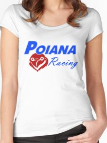 Poiana racing Women's Fitted Scoop T-Shirt