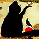 Black Bird and The  Red Ball by Betsy  Seeton