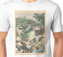 Tramway accident Paris France 1900 Unisex T-Shirt