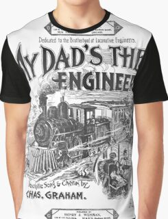 My Dad's The Engineer Graphic T-Shirt