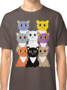 Only Eight Cats Classic T-Shirt