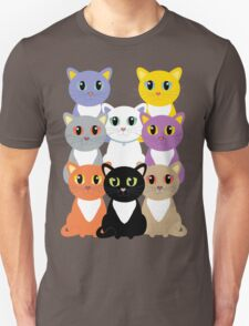 Only Eight Cats Unisex T-Shirt