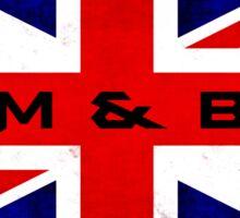 UK Drum and Bass Sticker